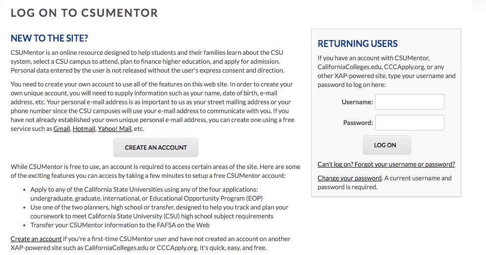 11 - CSU log on page.png